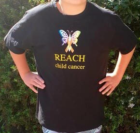 REACH Child Cancer T Shirt
